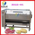 TS-M600湖南湘潭马蹄清洗机 土豆胡萝卜清洗去皮机