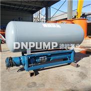 不锈钢浮筒潜水泵大流量高扬程