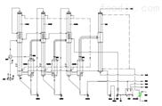 氨基酸三效降膜蒸发器