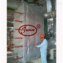 厂家直销换热器可拆卸保温套