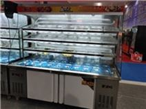 郑州卖杨国福张亮展柜 定做麻辣烫展示柜