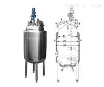 蒸汽加热配料罐1