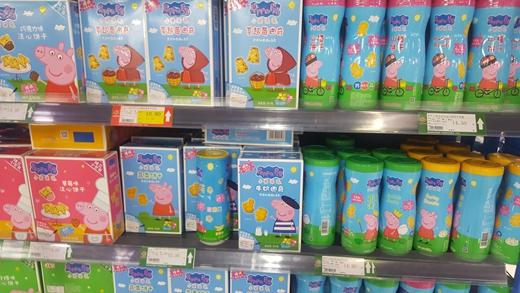 小猪佩奇食品大起底 从生产工艺中看关联性