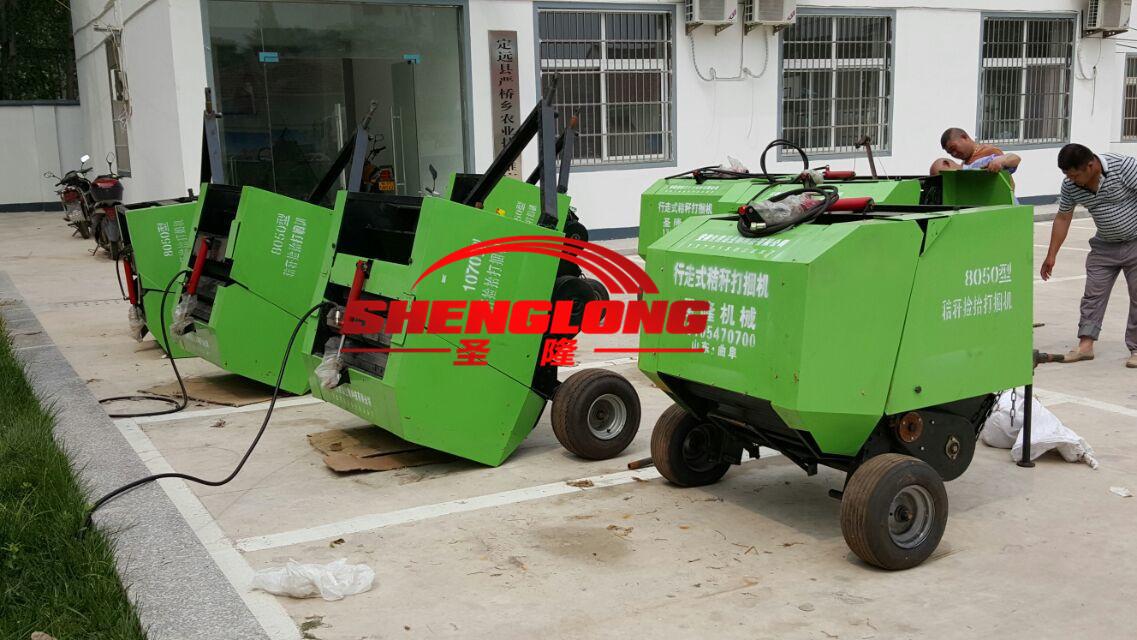 麦秸捡拾打捆机 5080打捆机生产厂家