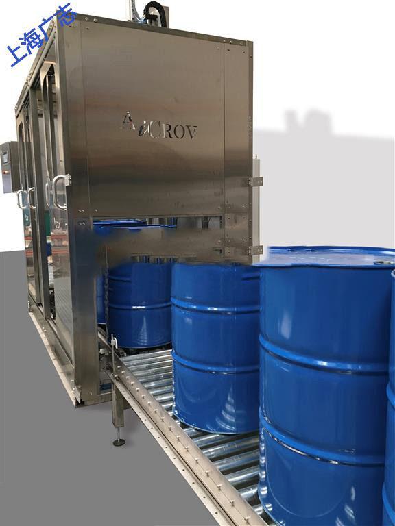 钢桶液体化工立式灌装机